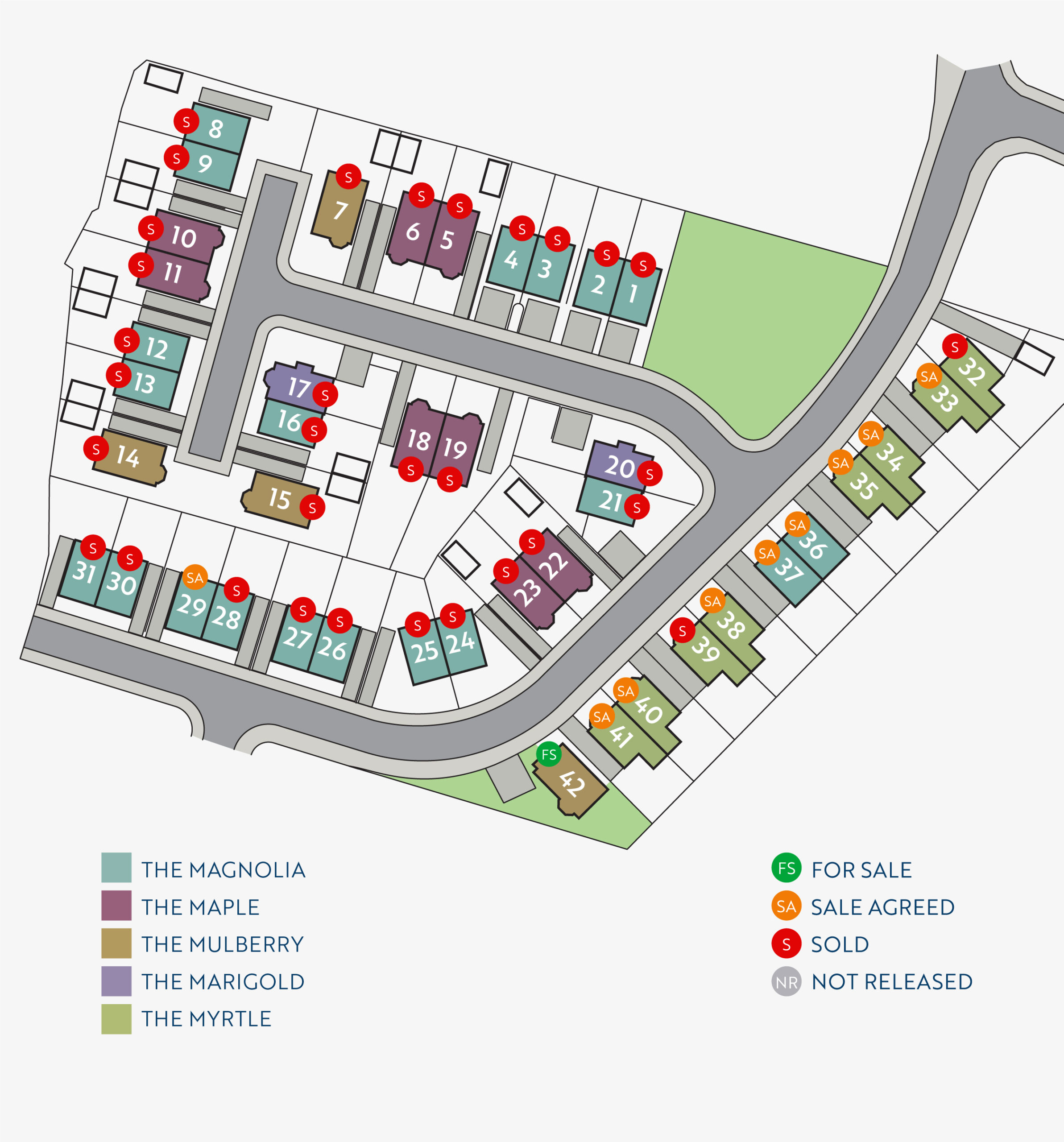 Site Maps-Maloon Crescent