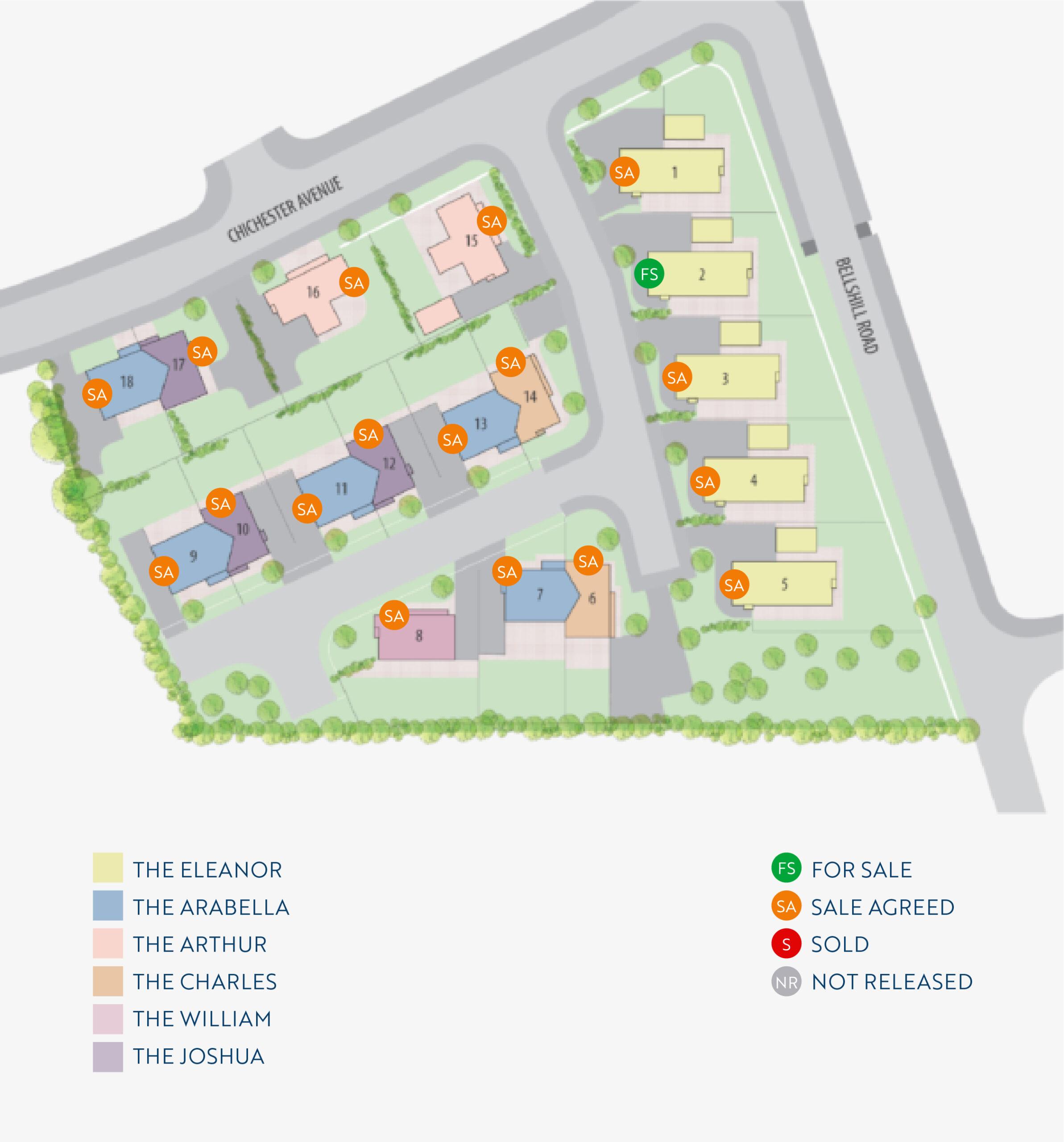 Site Maps-Dawsons Hill